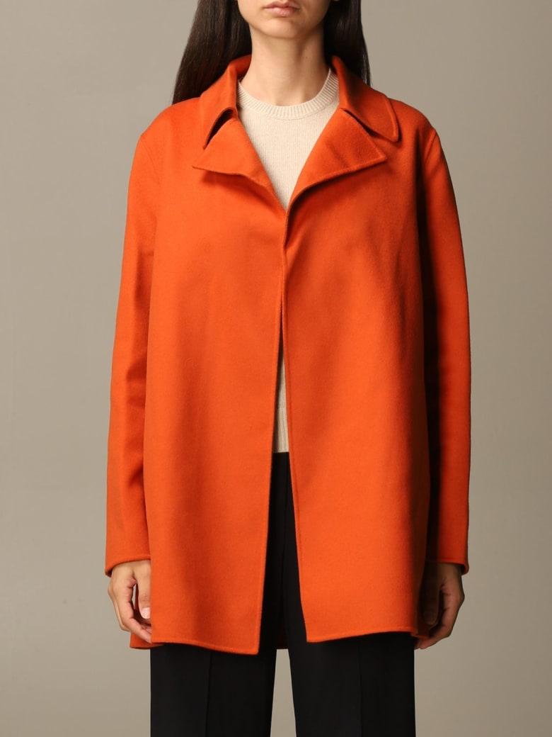 Theory Coat Coat Women Theory - Orange