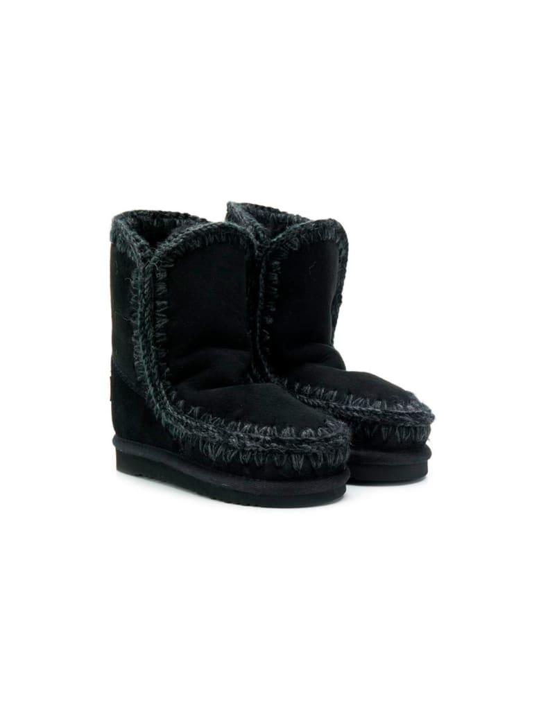 Mou Black Eskimo Boots Teen - Nero