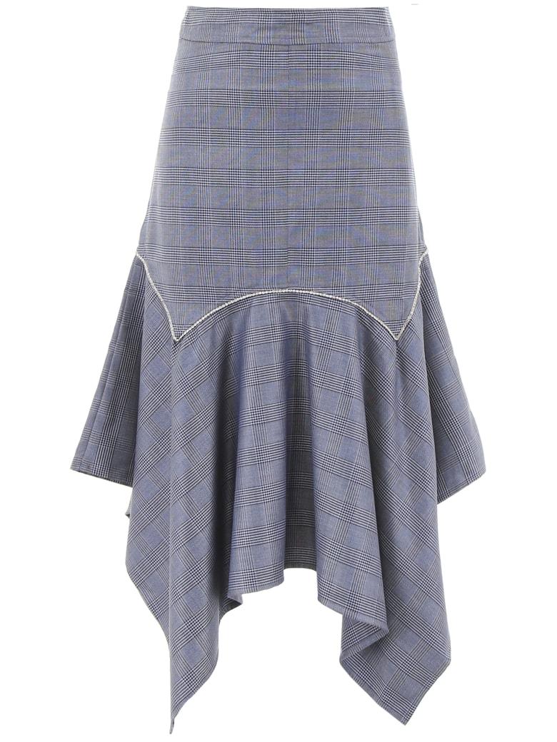 Ganni Merkel Skirt - SERENITY BLUE (Blue)