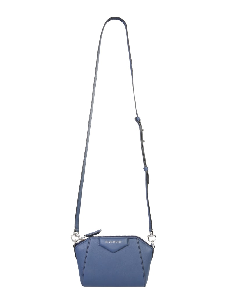 Givenchy Nano Antigona Bag - Blu scuro