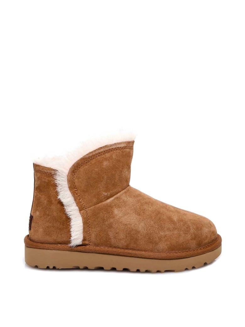 UGG Mini Fluff Boots - Beige