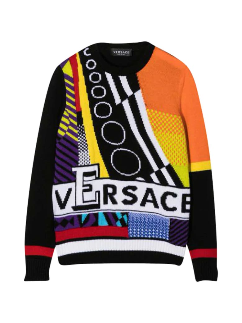 Young Versace Multicolor Sweater - Multicolor