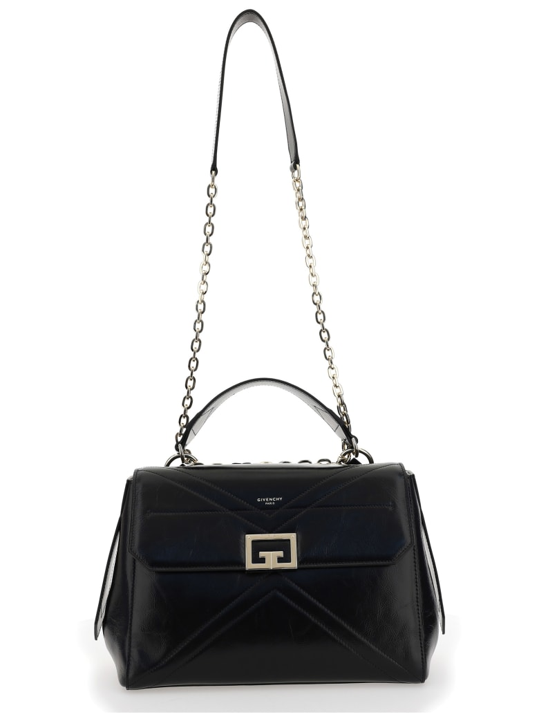 Givenchy Id Medium Shoulder Bag - Black