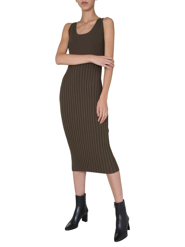 McQ Alexander McQueen Knit Dress - VERDE