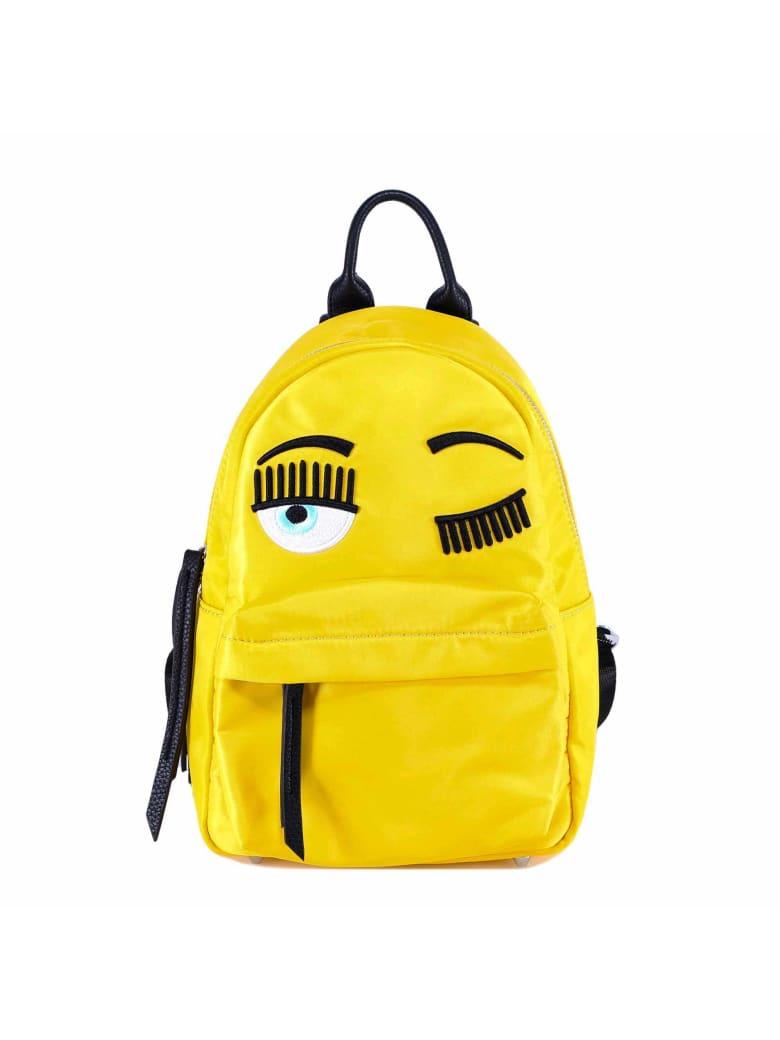 Chiara Ferragni Backpack Flirting Fluo Big - Yellow