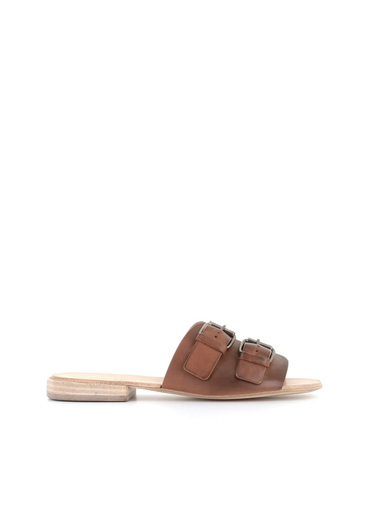 """Marsell Mules """"mw5453"""" - Brown"""