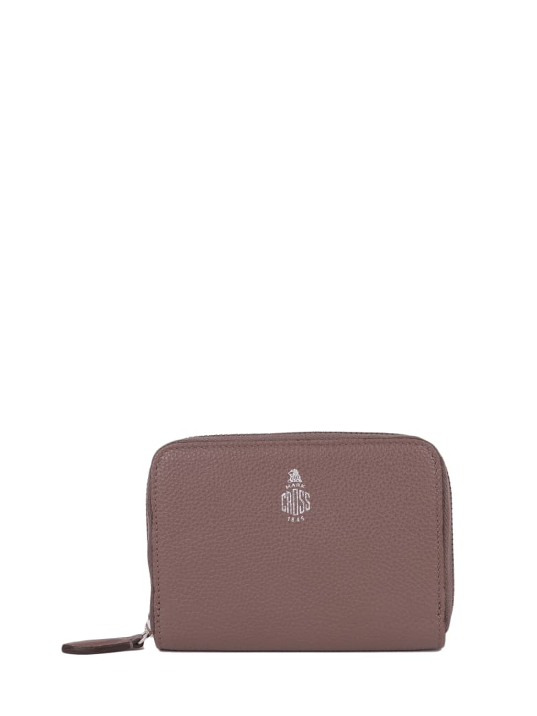 Mark Cross Grace Brown Wallet S - Brown