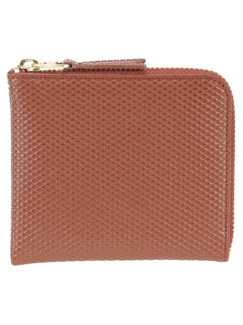 Comme des Garçons Wallet Comme Des Garcons Wallet Comme Des Garçons Luxury Group Zip Wallet - BROWN