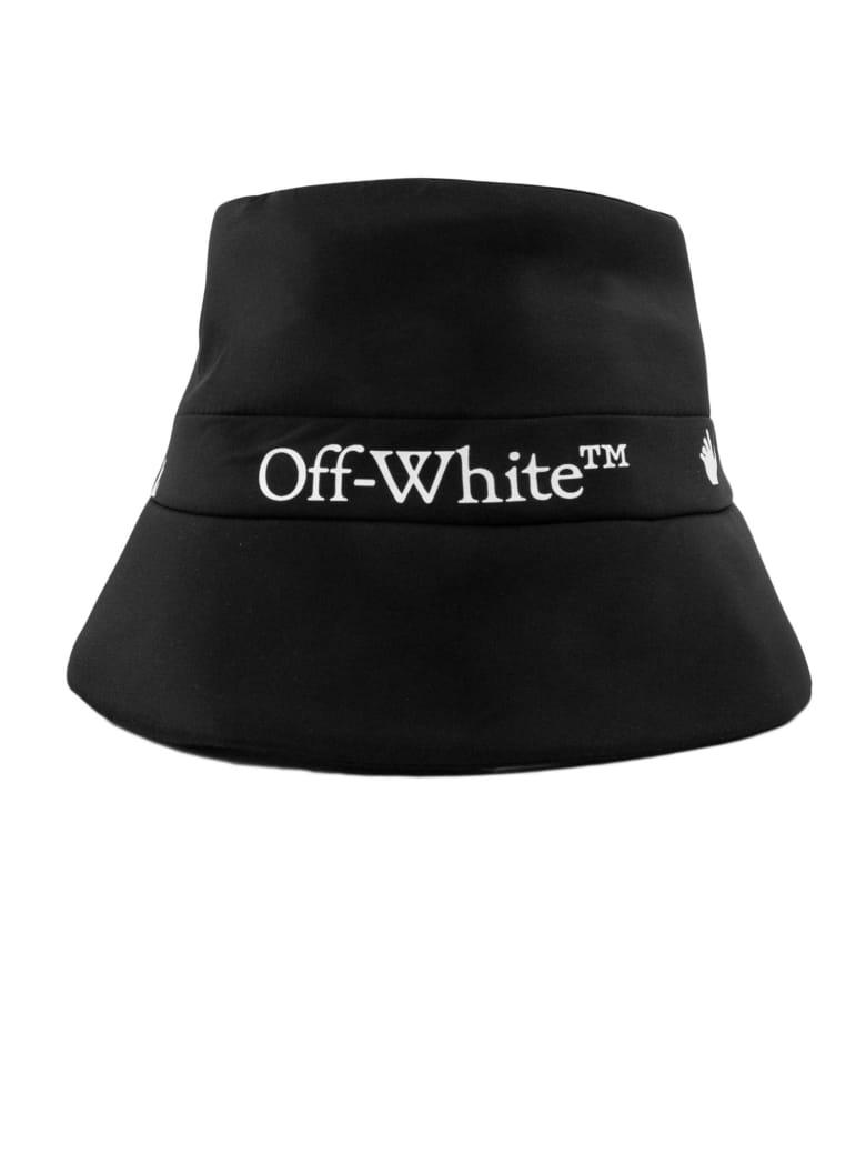 Off-White Black Rain Cap - Nero