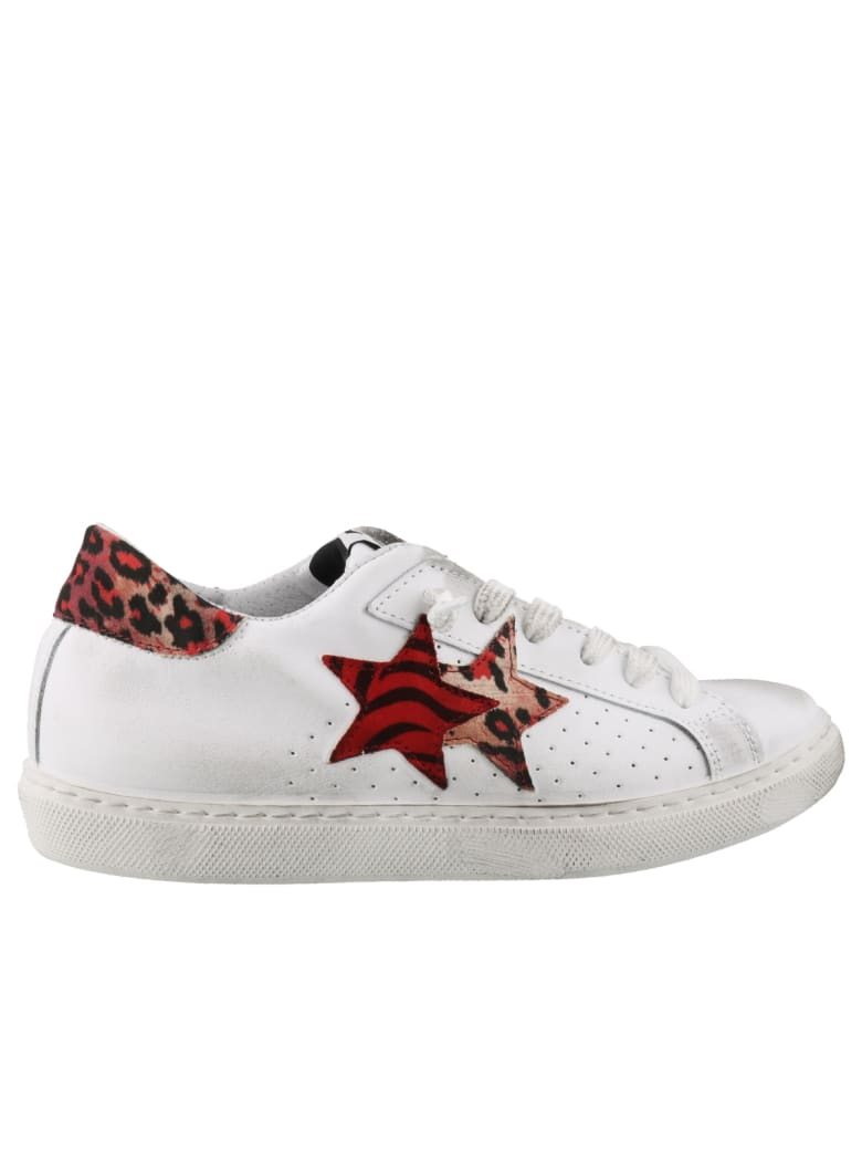 2Star Sneakers - White