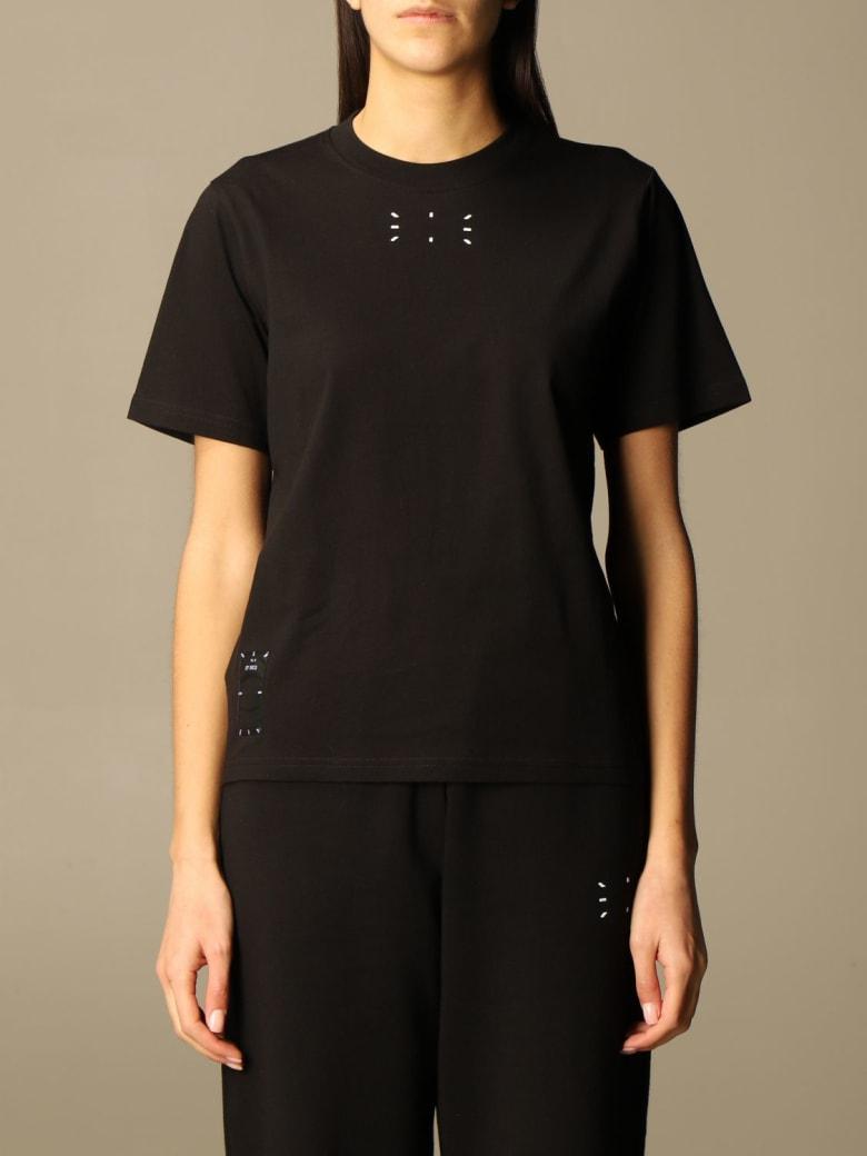 McQ Alexander McQueen Mcq T-shirt Mcq Cotton T-shirt With Logop - Black