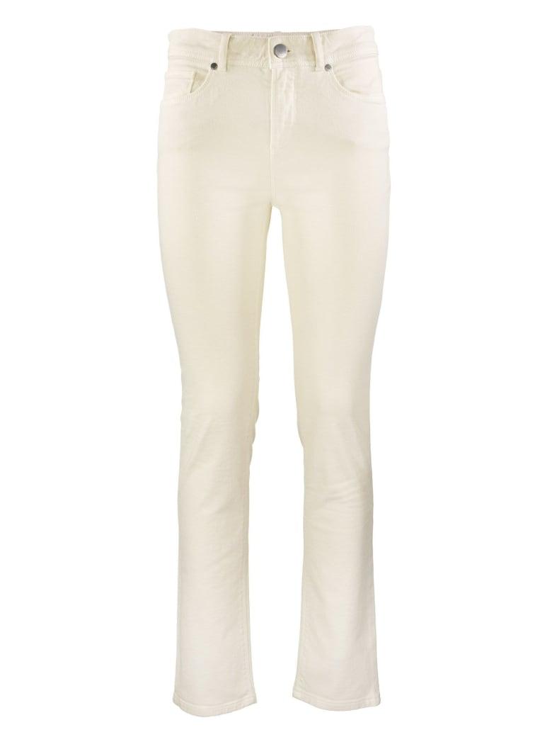 Loro Piana Mathias High-rise Straight Jeans Trousers - Tapioca