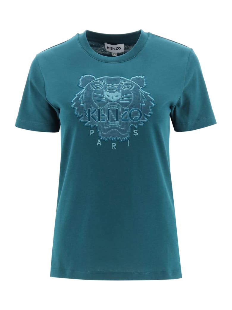 Kenzo Tiger T-shirt - GREEN