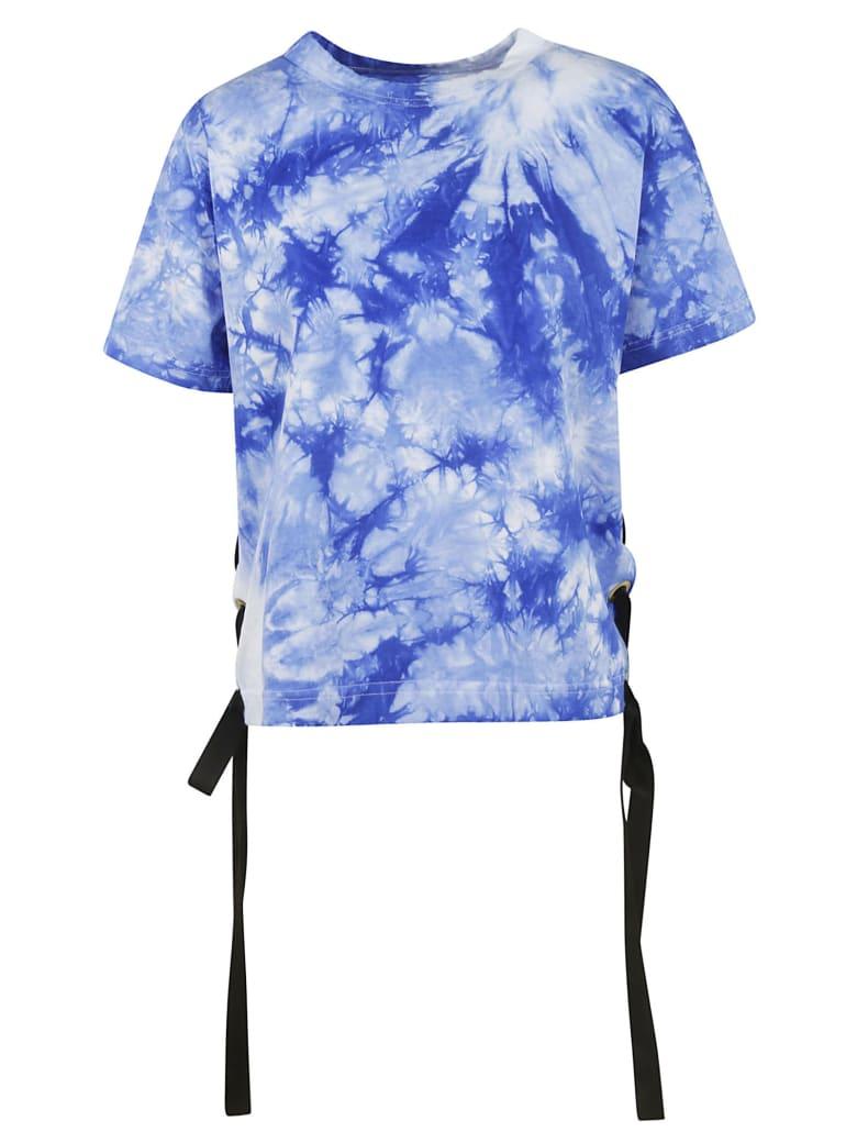 Sacai Tie Dye T-shirt - Blue/White