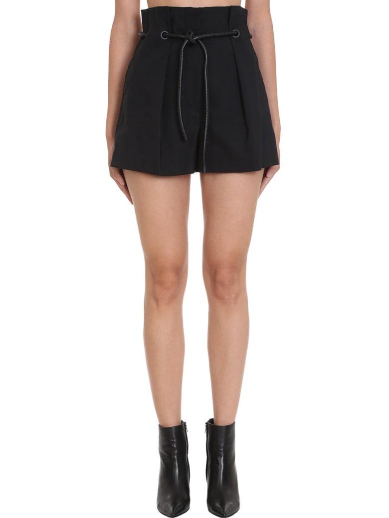 3.1 Phillip Lim Shorts In Black Cotton - black