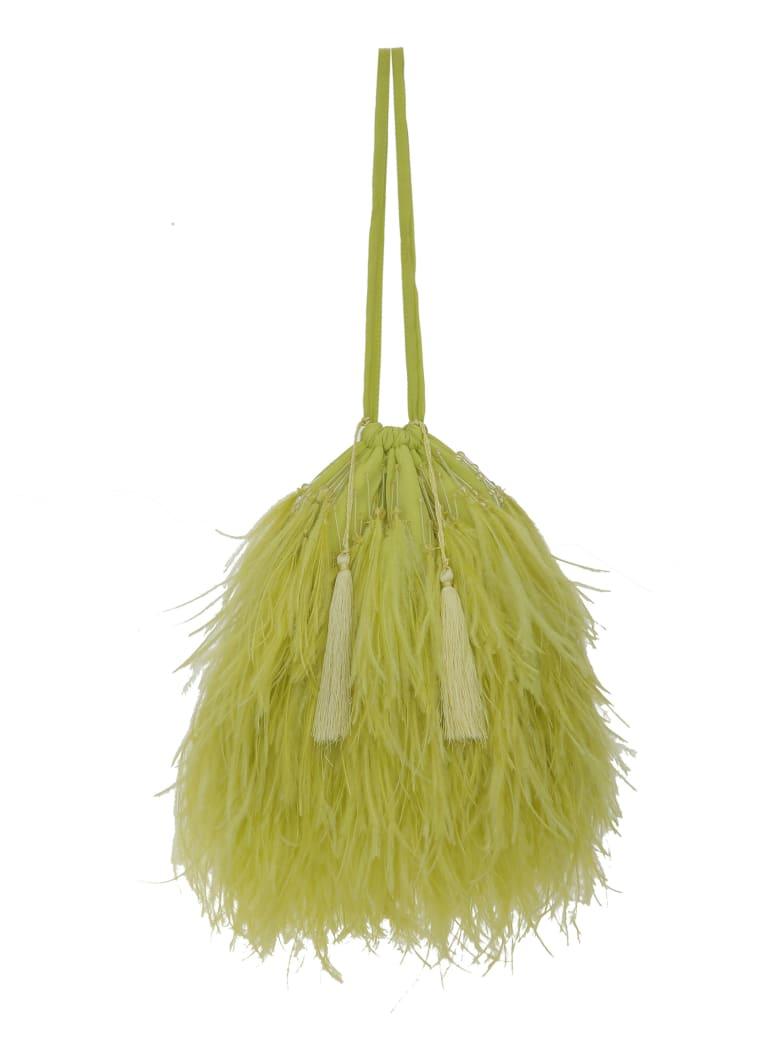 The Attico Greta Hand Bag - Acid green