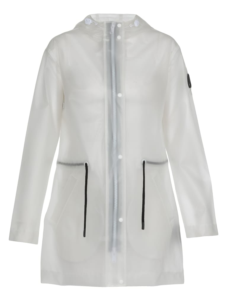 Moose Knuckles Tech Fabric Overcoat - CLEAR