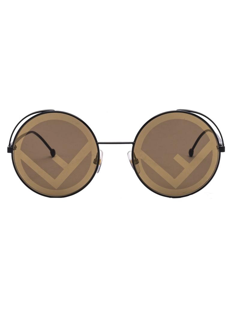 Fendi Ff 0343/s Sunglasses - 807EB BLACK