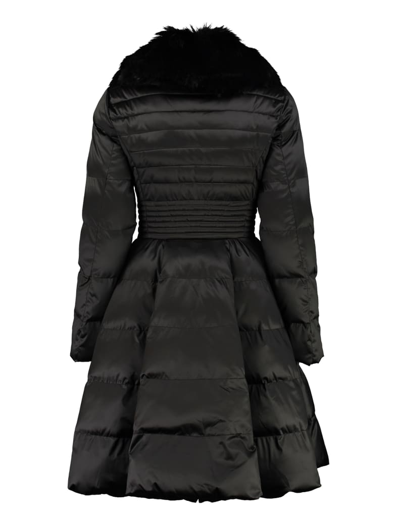 Elisabetta Franchi Celyn B. Full Zip Padded Jacket - black