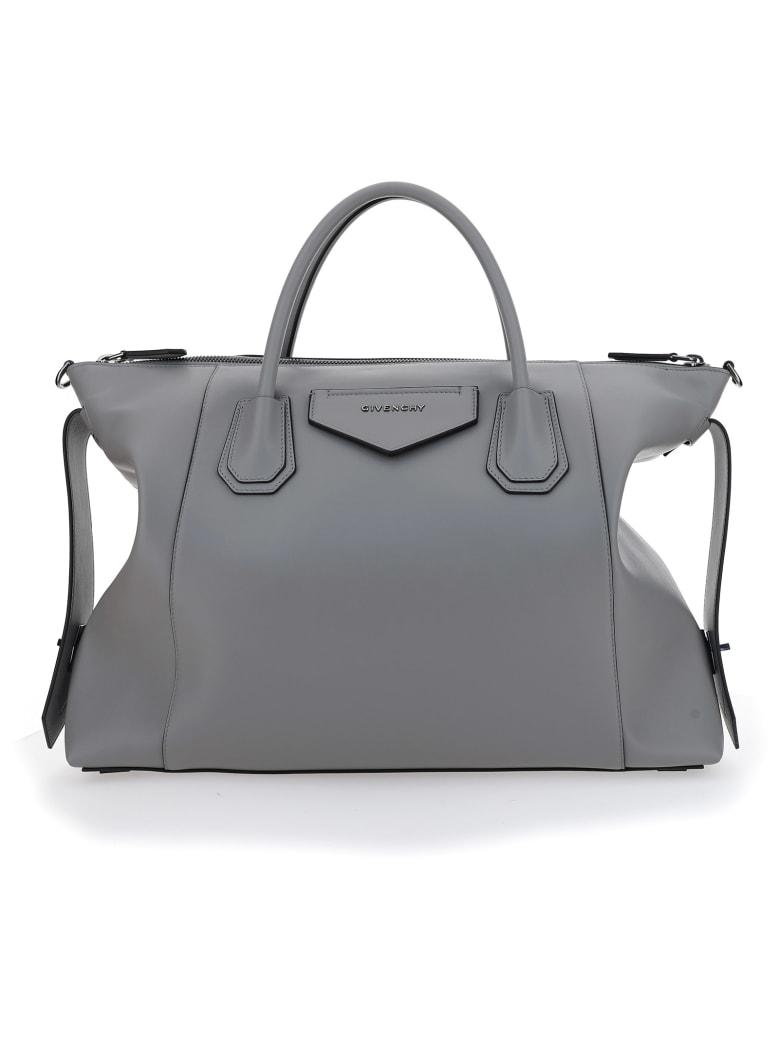 Givenchy Antigona Soft Medium Handbag - Pearl grey