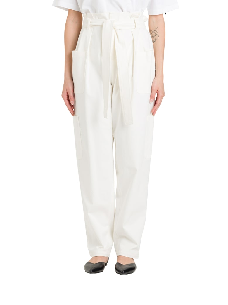 RED Valentino Cargo Trousers - Latte