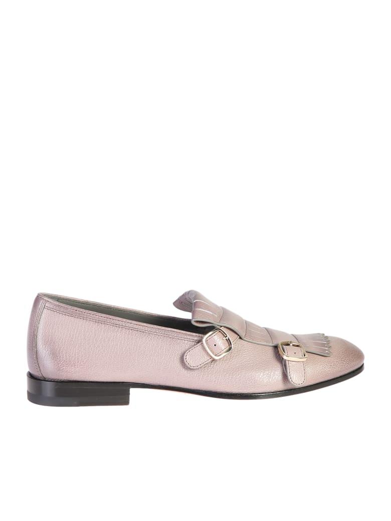 Santoni Fringed Details Shoes - Purple