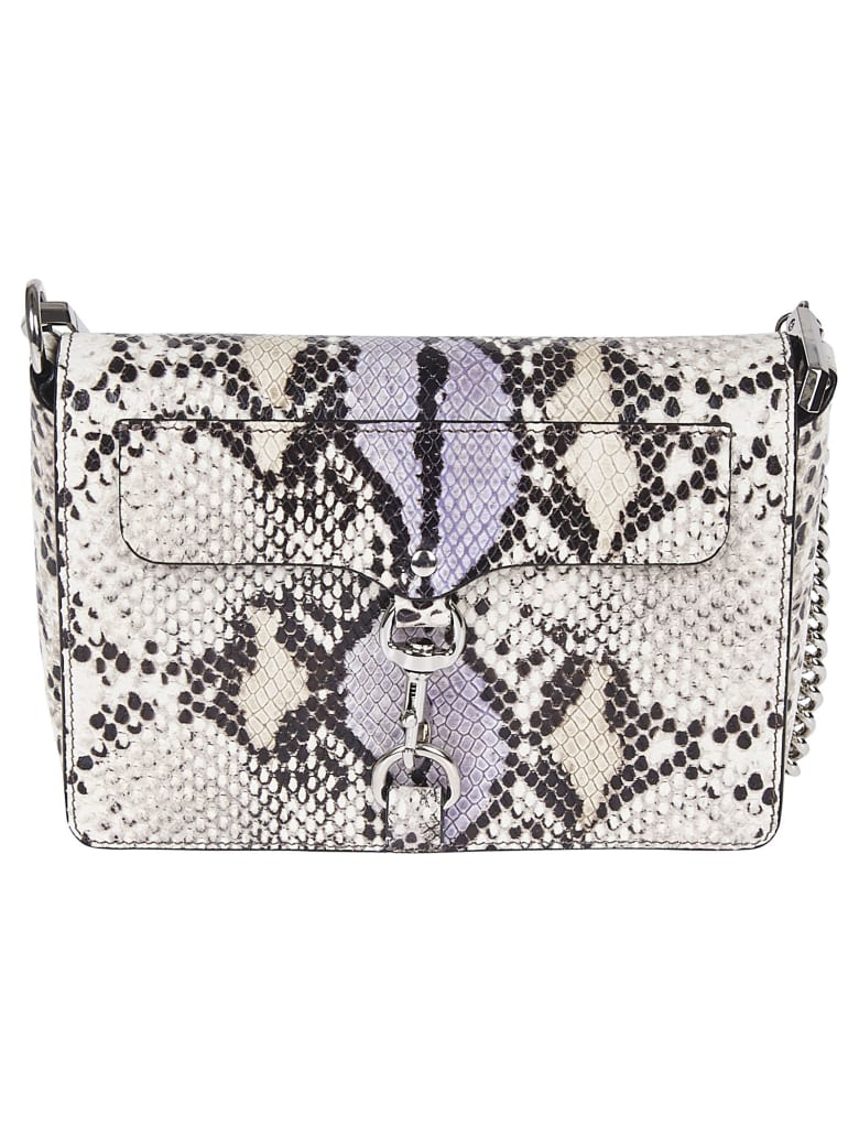 Rebecca Minkoff Mini M.a.c Crossbody Bag - White/Black