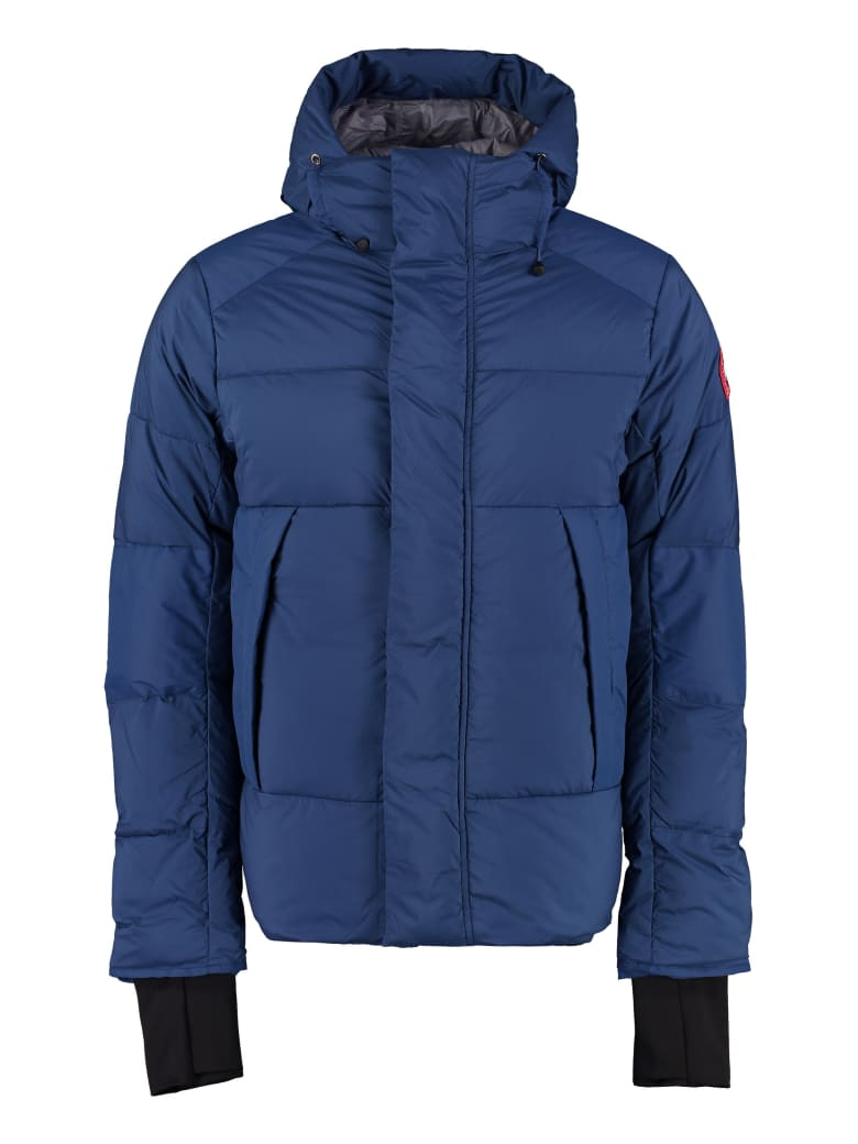 Canada Goose Armstrong Padded Hooded Jacket With Snaps - blue