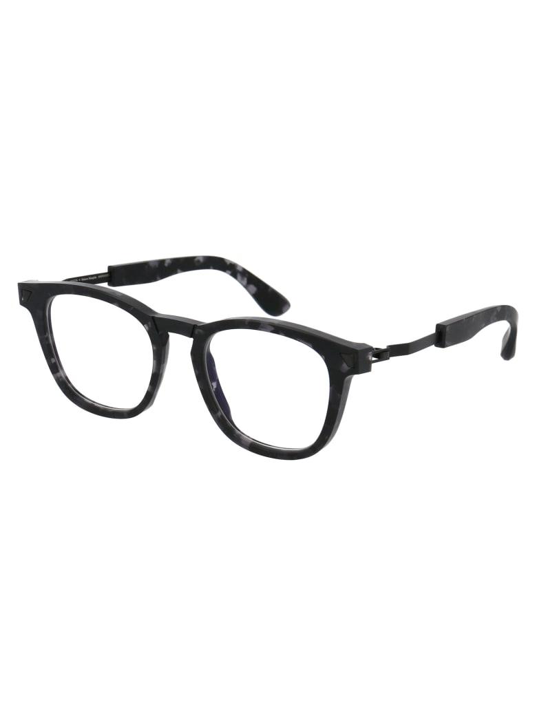 Mykita Mmraw012 Glasses - 842 RAW BLACK HAVANA/BLACK | CLEAR