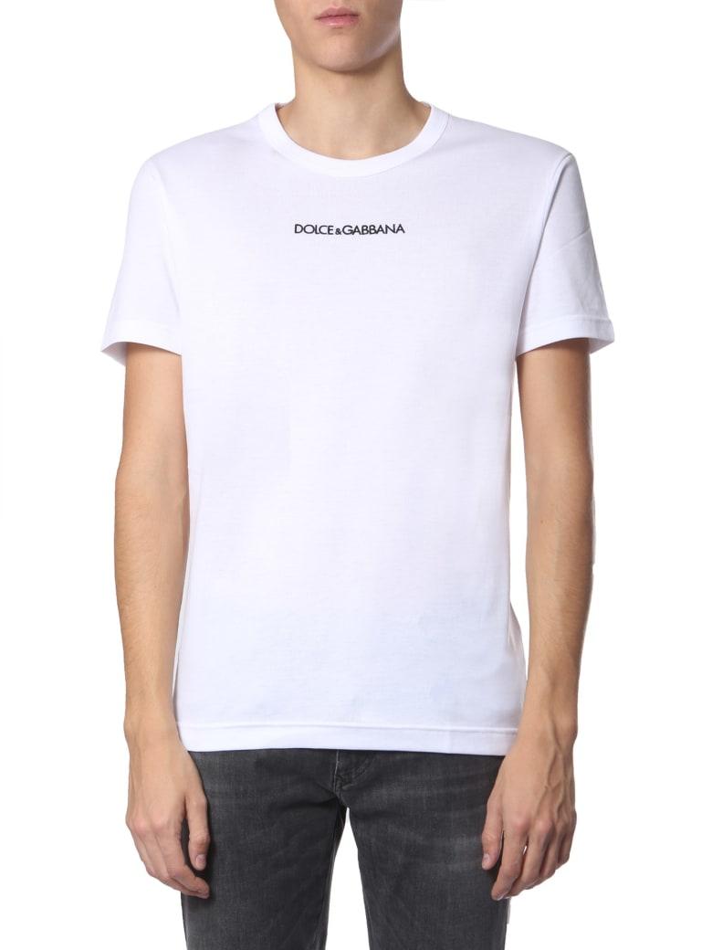 Dolce & Gabbana Round Neck T-shirt - BIANCO