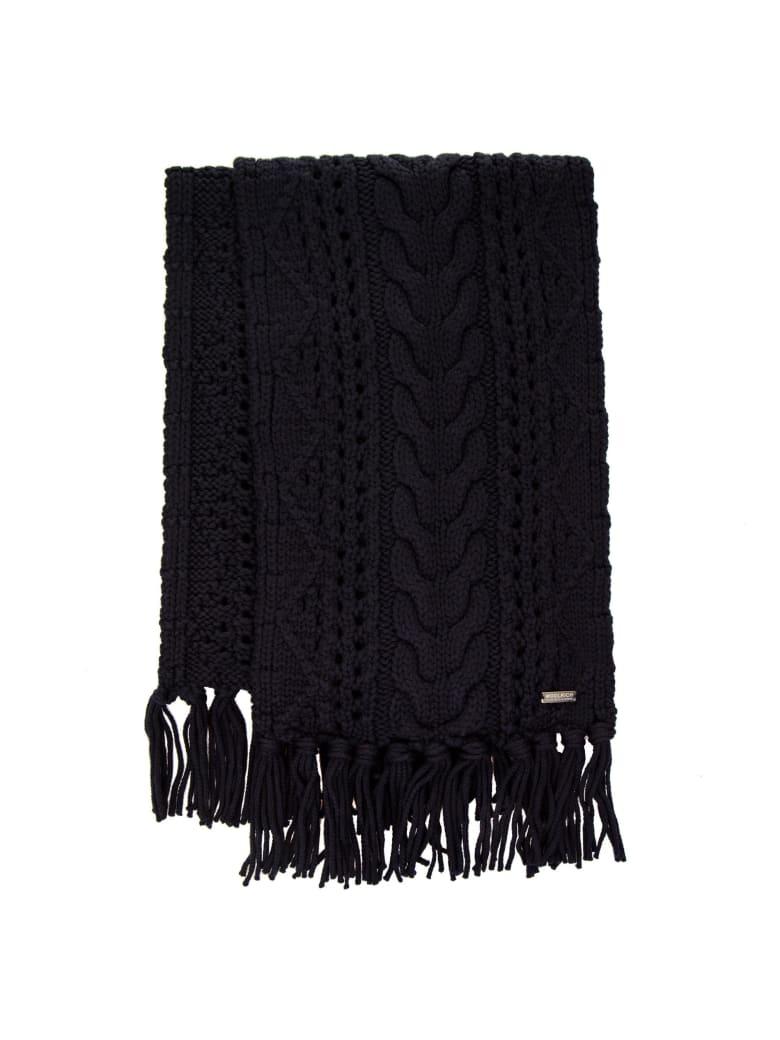 Woolrich Wool Scarf - BLUE