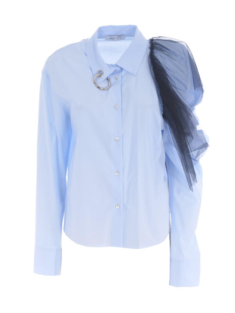 Act n.1 Shirt - Celeste/blu