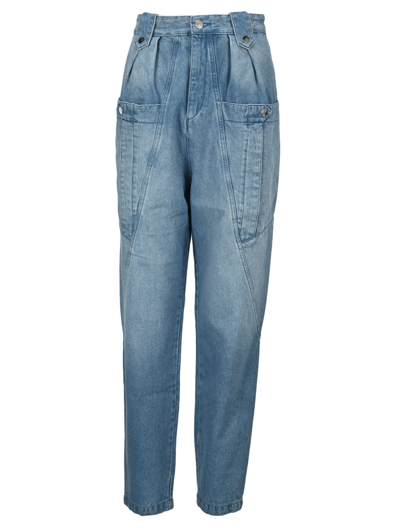 Isabel Marant Kerris Jeans - LIGHT BLUE