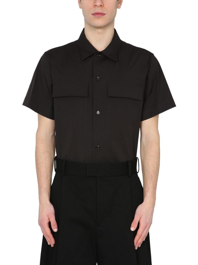 Bottega Veneta Military Shirt - Marrone