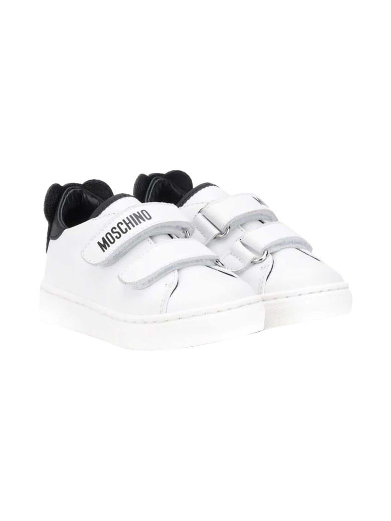 Moschino White Sneakers - Bianco