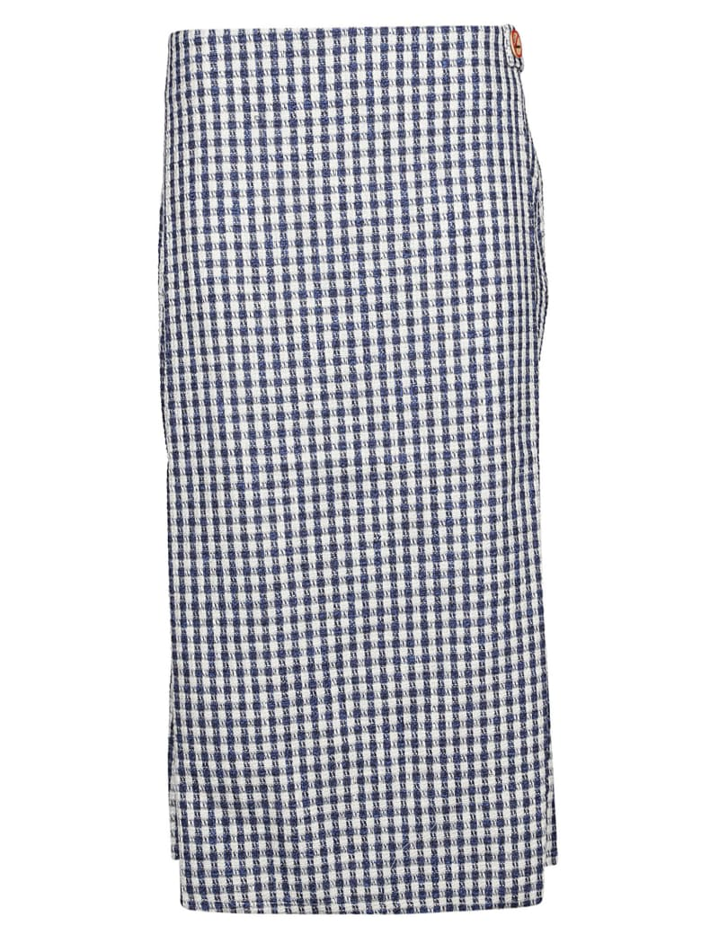 Simon Miller Plaid Pattern Skirt - Country Plaid