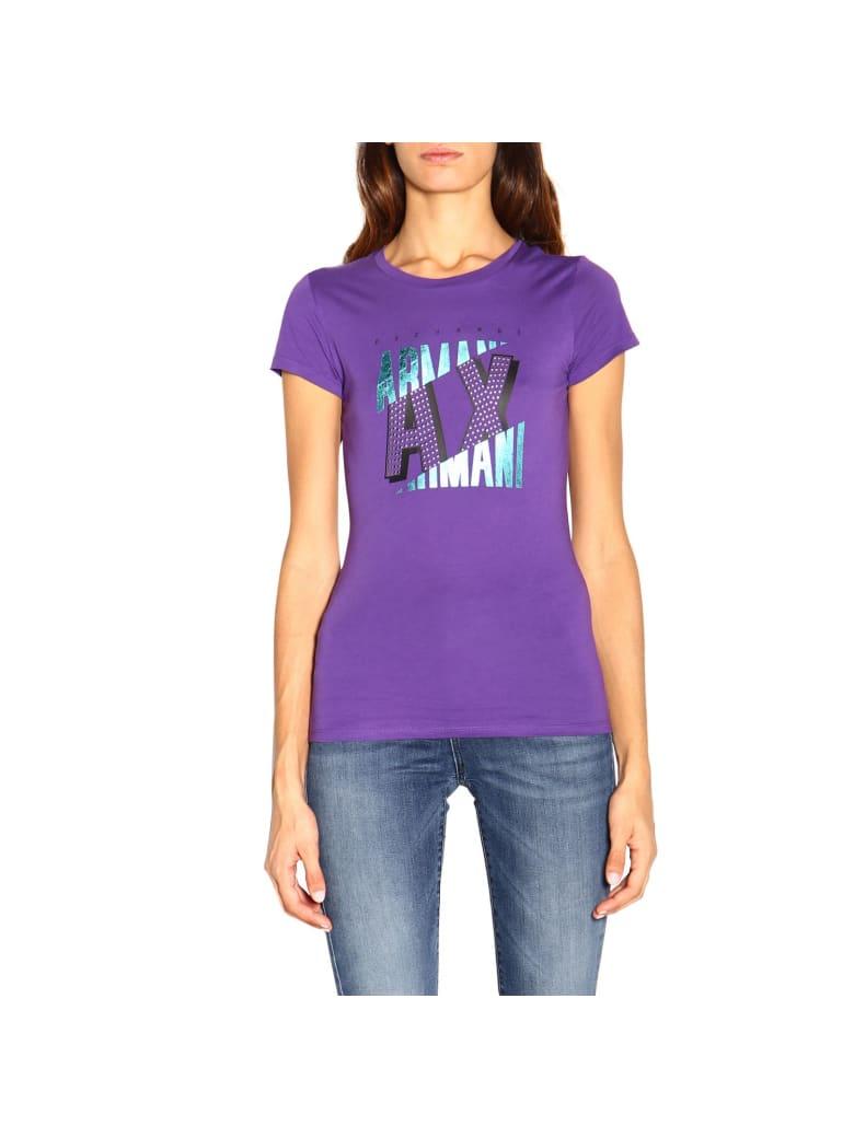 Armani Collezioni Armani Exchange T-shirt T-shirt Women Armani Exchange - violet