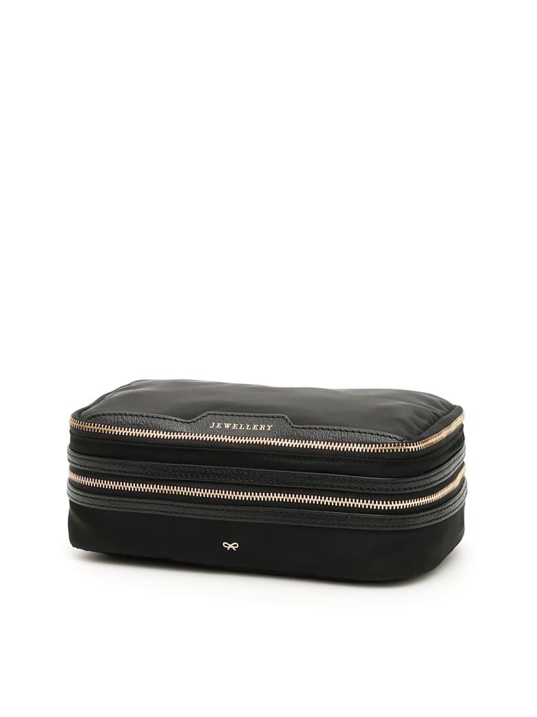 Anya Hindmarch Jewellery Case - BLACK (Black)