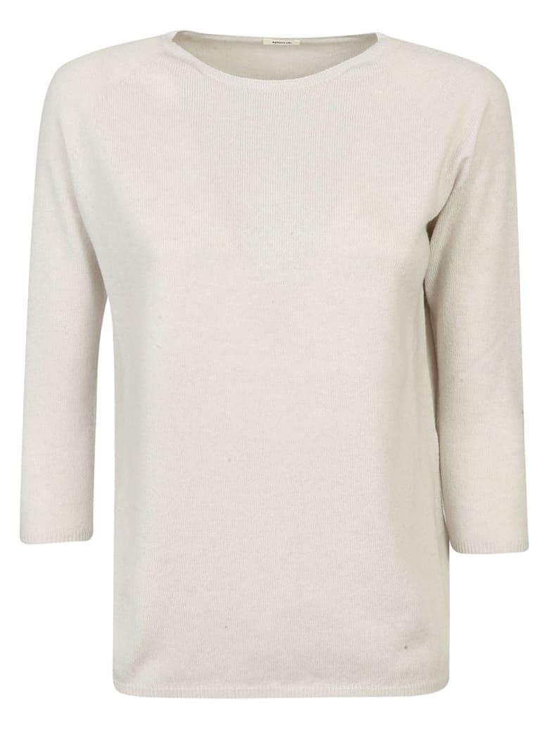 A Punto B Slim Sweater - Ecru