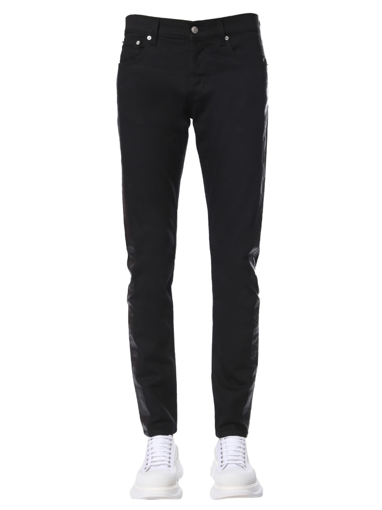 Alexander McQueen Jeans Skinny Fit - NERO