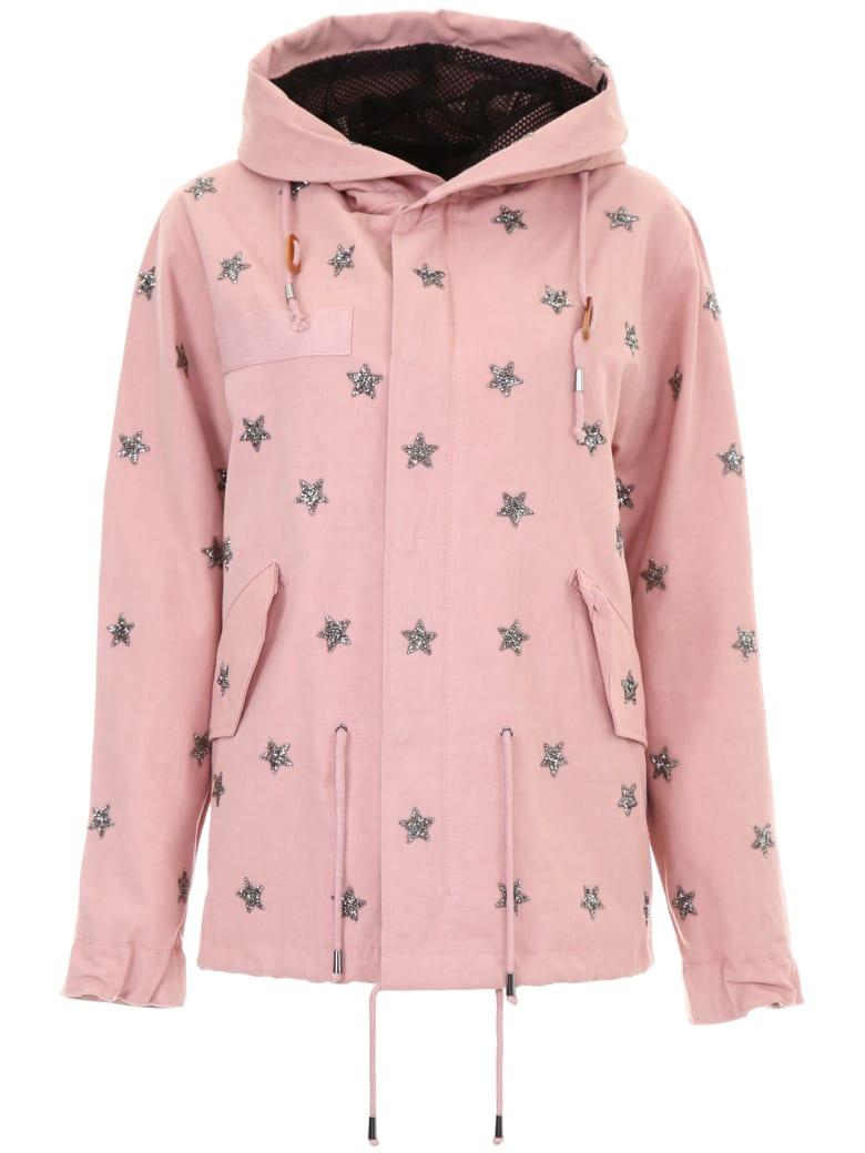 AS65 Crystal Stars Parka - NUDE (Pink)