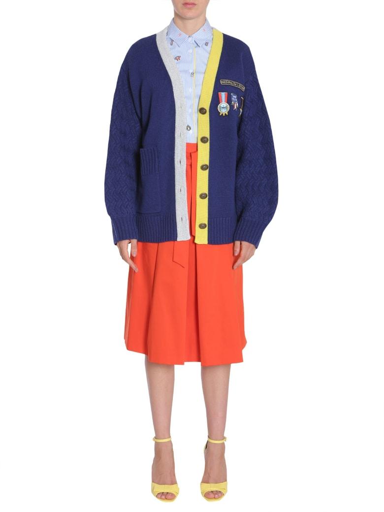 Mira Mikati Cardigan With Scout Patch - BLU