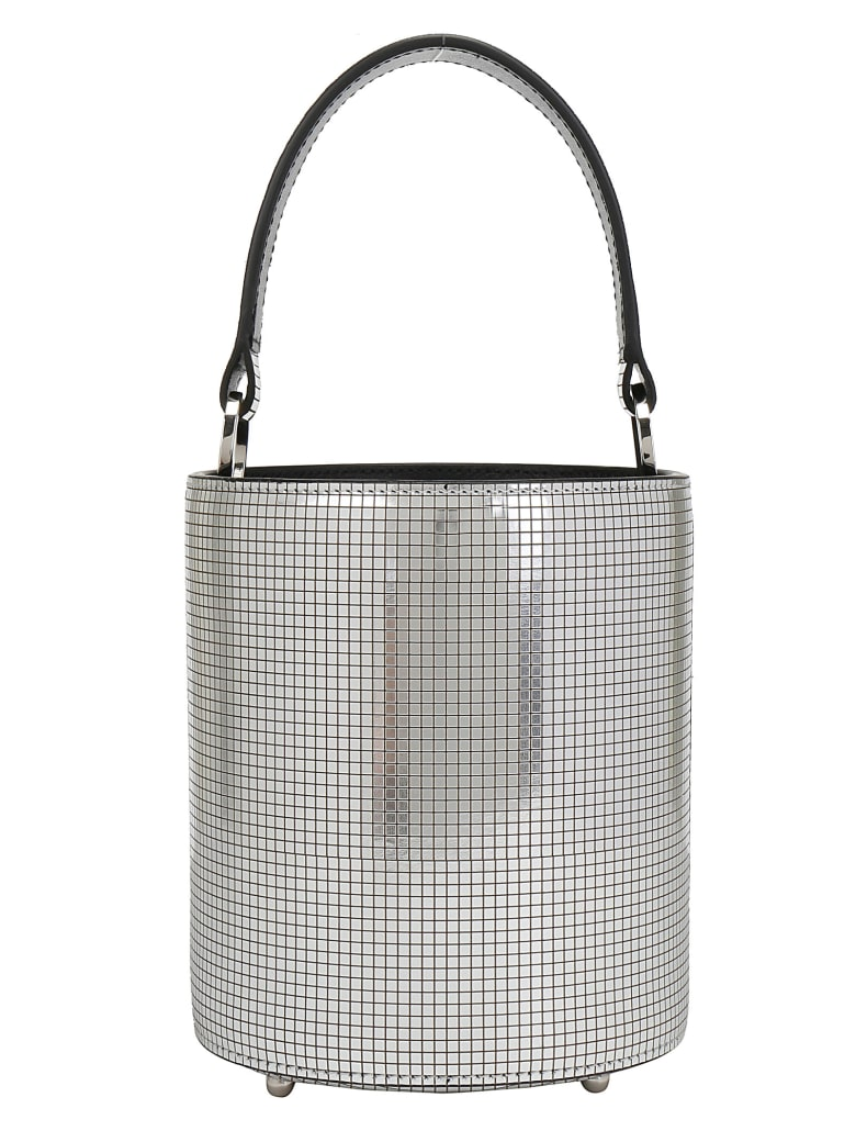 Les Petits Joueurs Baby Olivia Disco Bucket Bag - Silver