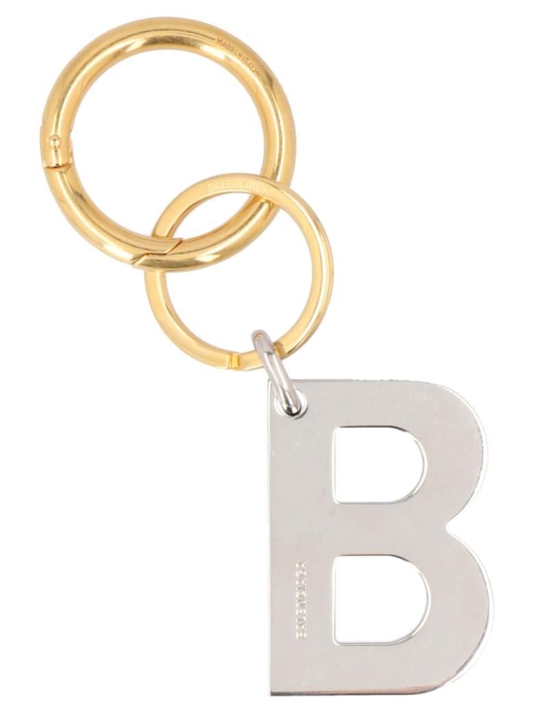 Balenciaga 'bb' Keyring - Multicolor