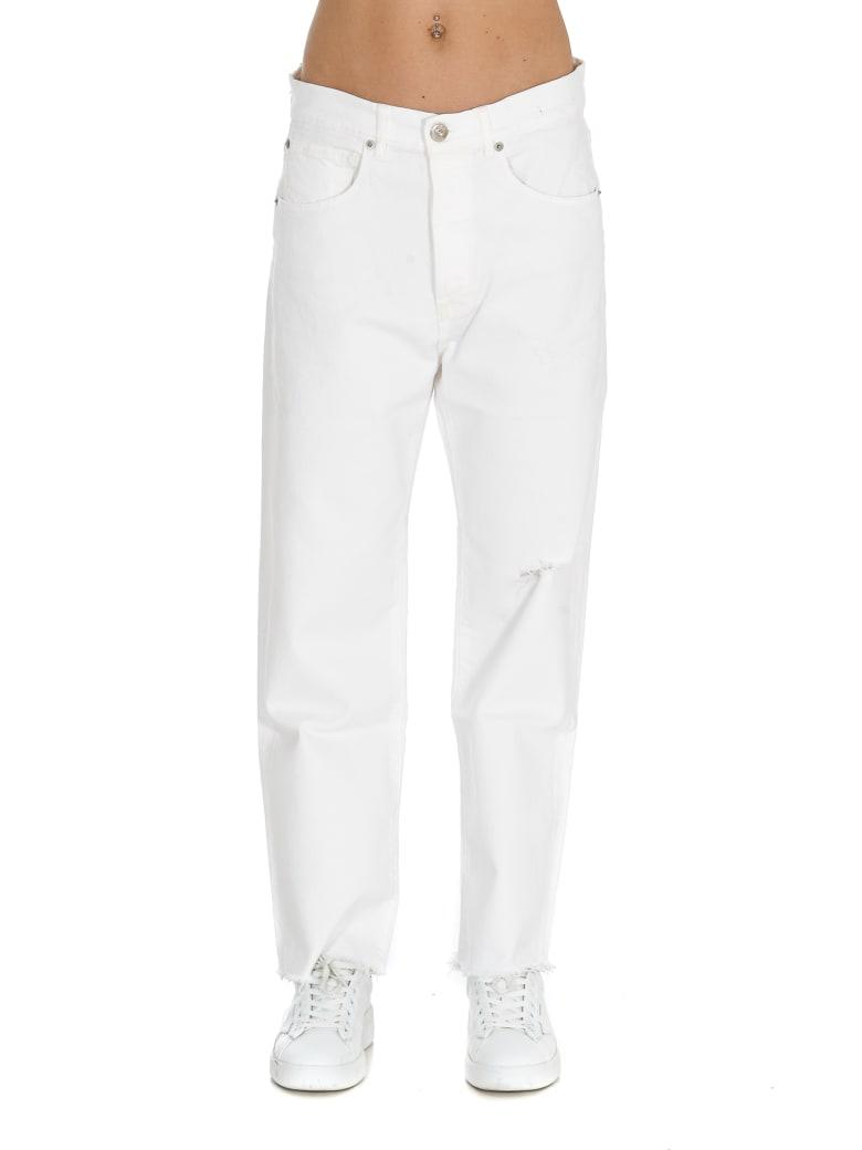 3x1 Sabina Girlfriend Jeans - White
