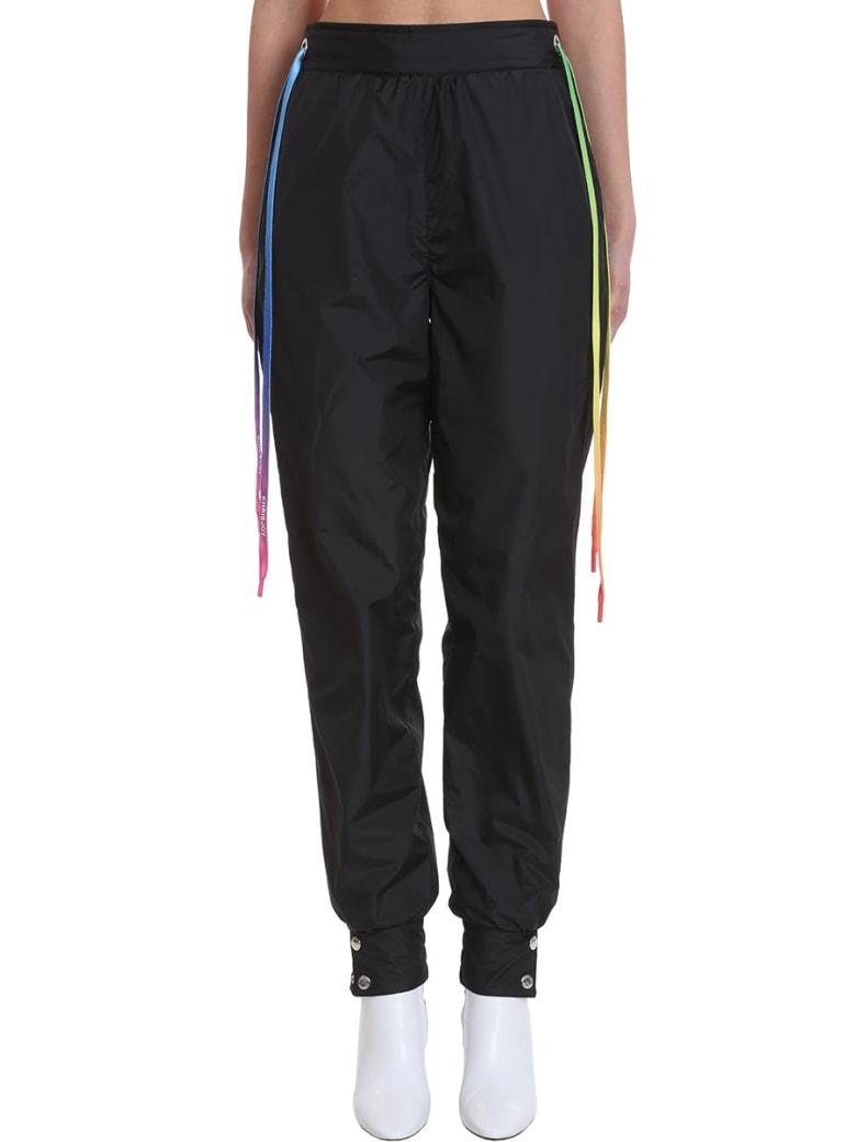 Khrisjoy Pants In Black Tech/synthetic - black