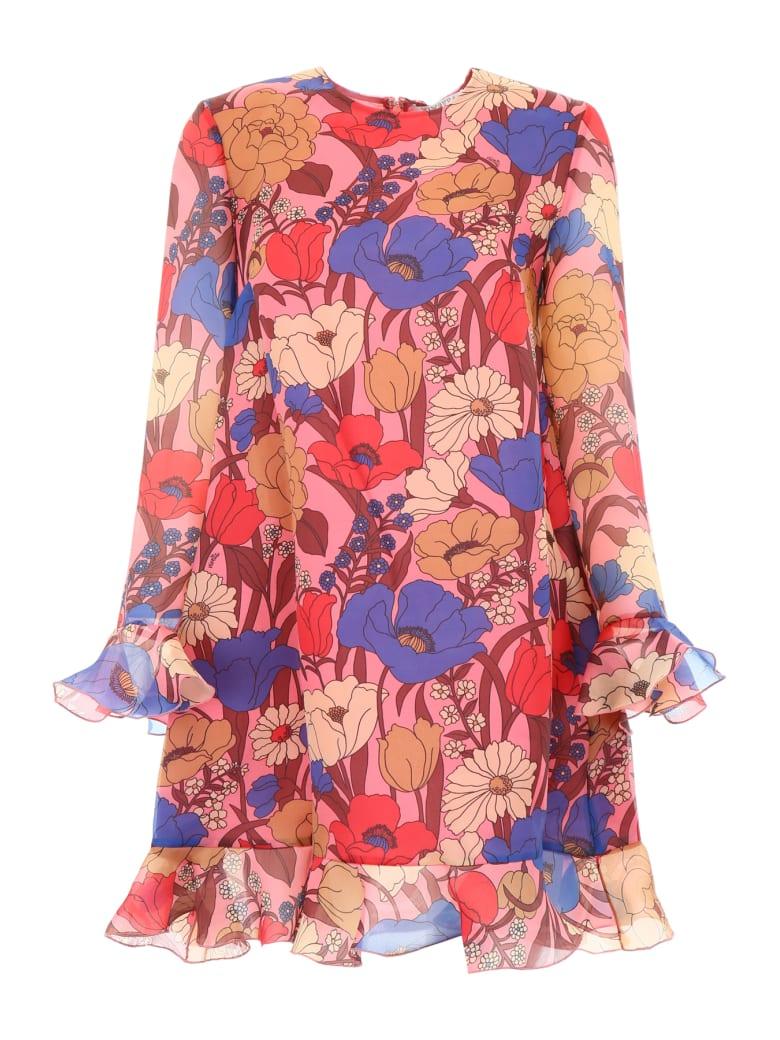 Vivetta Organza Ducker Dress - PINK MULTI (Pink)