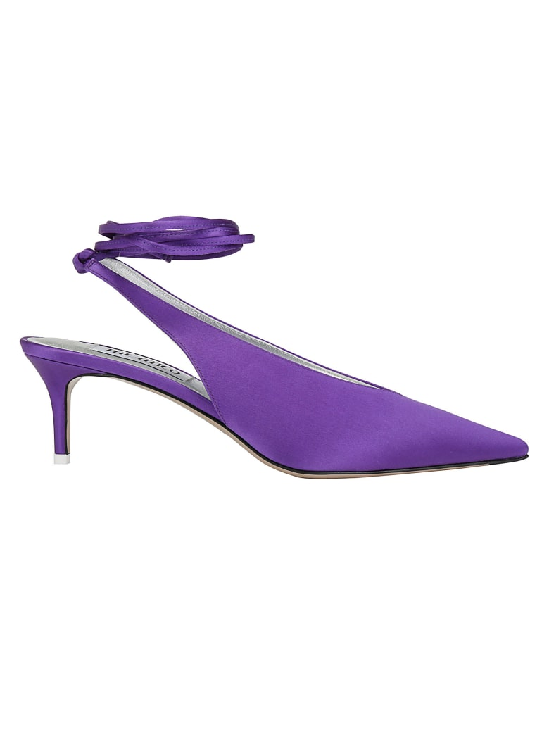 The Attico Slingback Shoes - Viola
