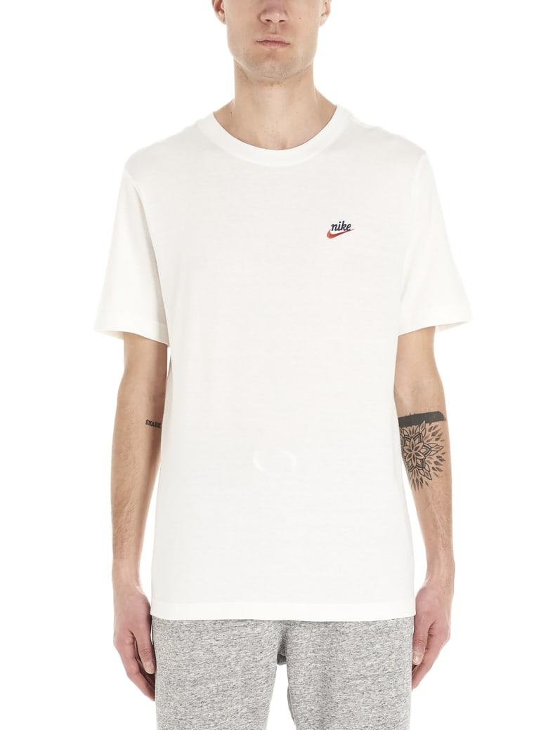 Nike 'logo Heritage' T-shirt - White