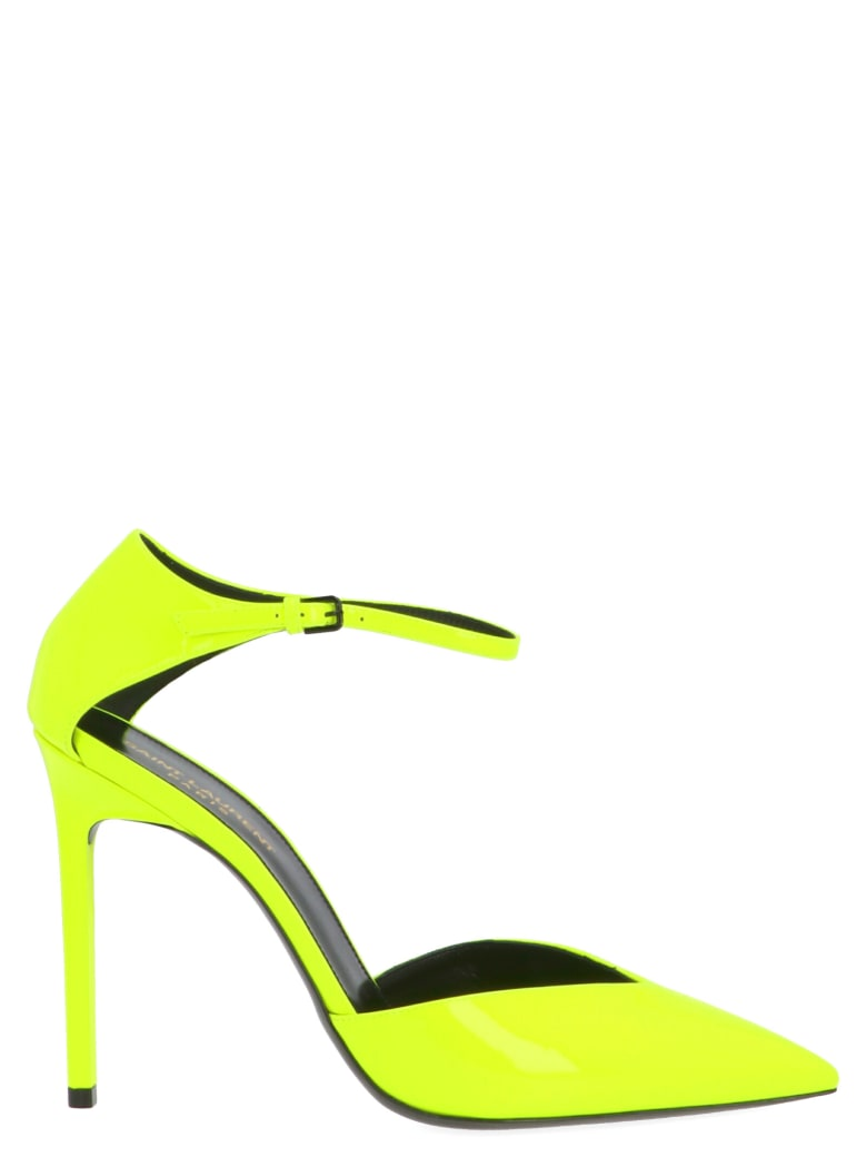 Saint Laurent 'anja' Shoes - Giallo